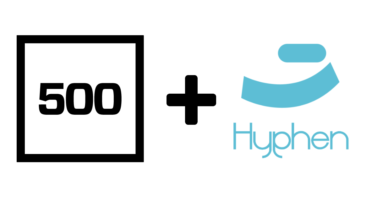 Hyphen joins the 500Startups family!