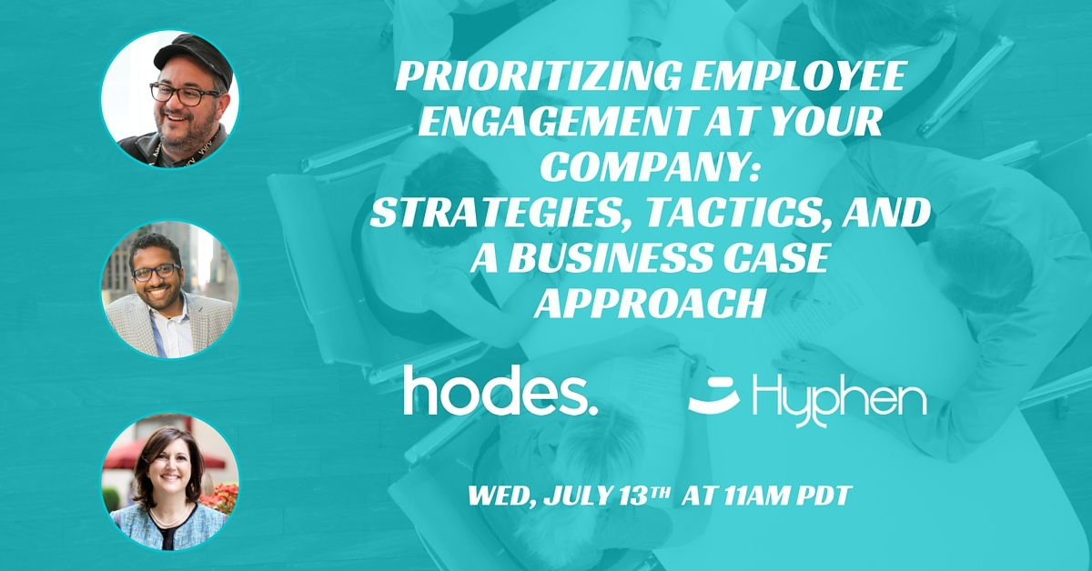 Employee Engagement - Strategies & Tactics for the changing workplace